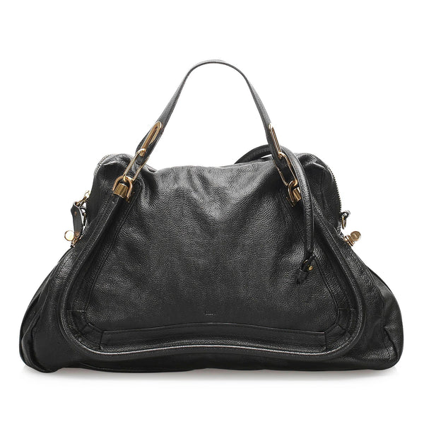 Chloe Medium Paraty Leather Satchel (SHG-10998)
