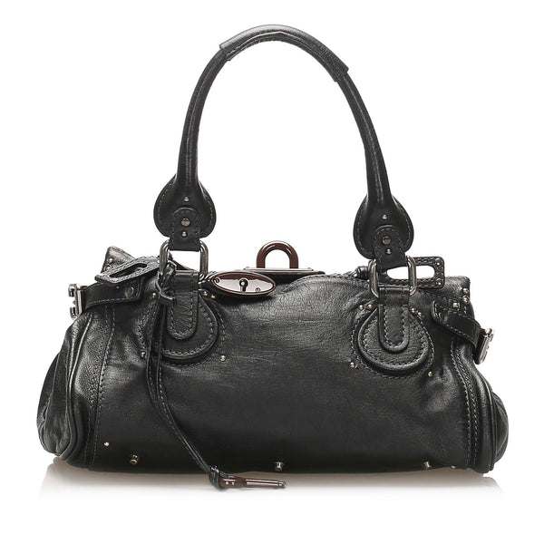 Chloe Paddington Leather Shoulder Bag (SHG-11524)