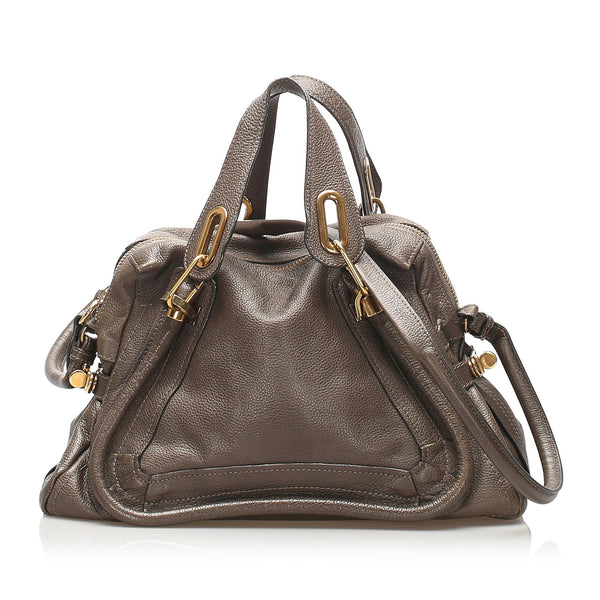 Chloe Paraty Leather Satchel (SHG-11263)