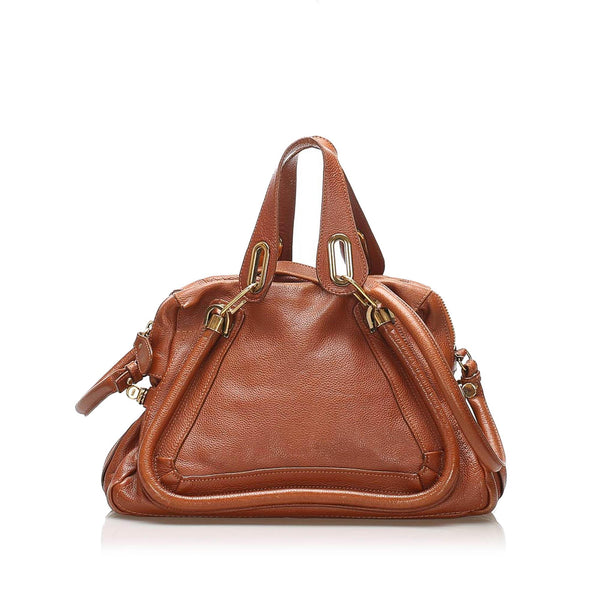Chloe Paraty Leather Satchel (SHG-11289)