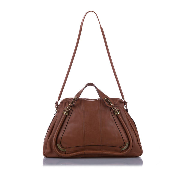 Chloe Paraty Leather Satchel (SHG-11448)