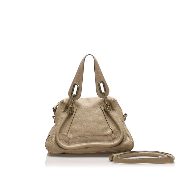 Chloe Small Paraty Leather Satchel (SHG-10898)