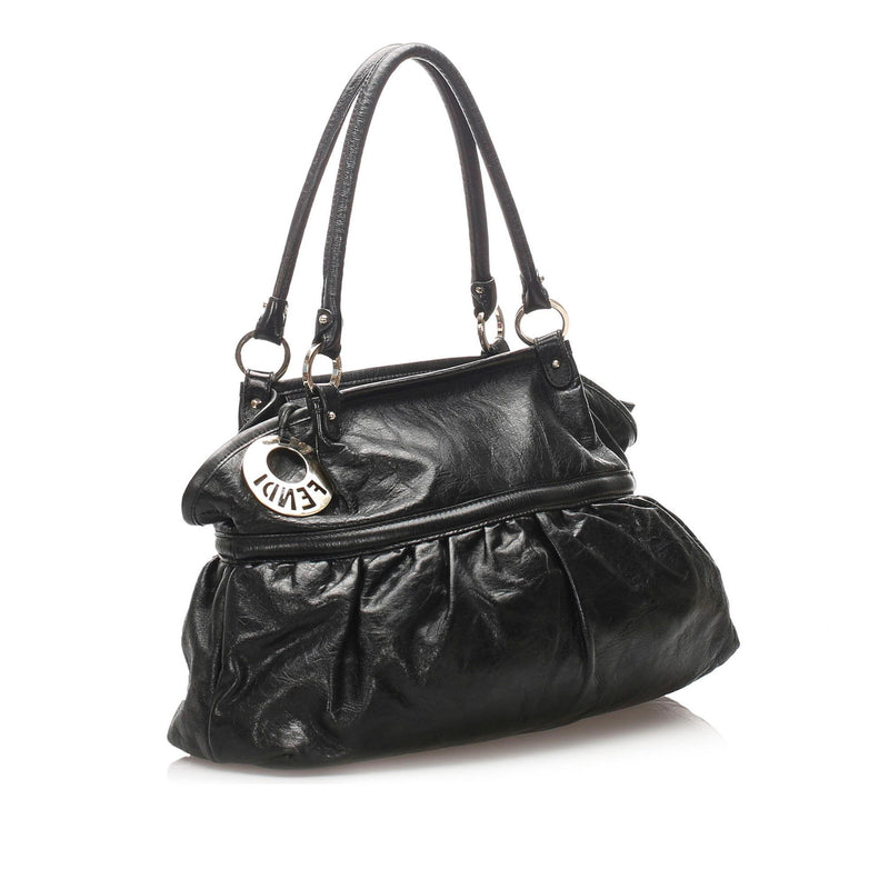 Fendi Leather Chef Shoulder Bag (SHG-12203)