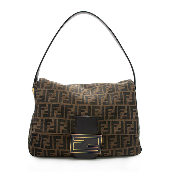 Fendi Zucca Forever Mamma Shoulder Bag