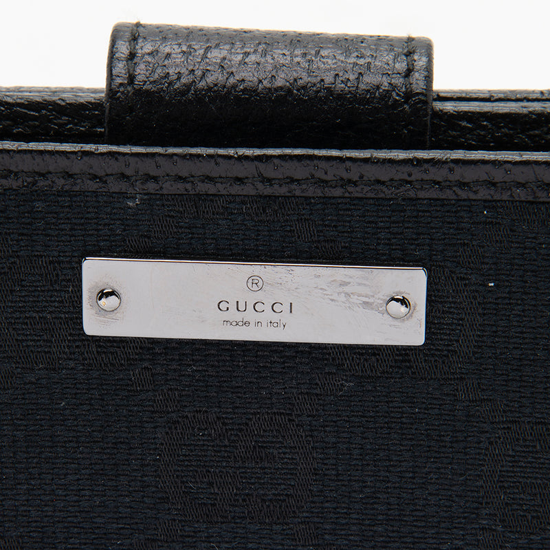 Gucci GG Canvas French Wallet (SHF-12142)