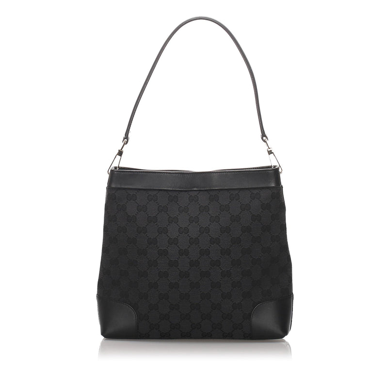 Gucci GG Canvas Shoulder Bag (SHG-10371)