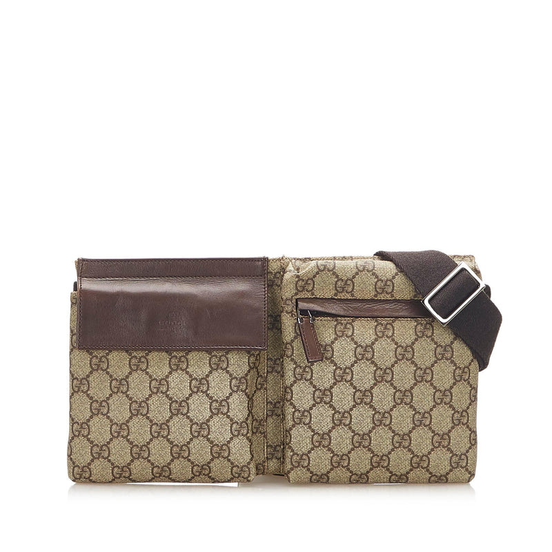 Gucci GG Supreme Belt Bag (SHG-18358)