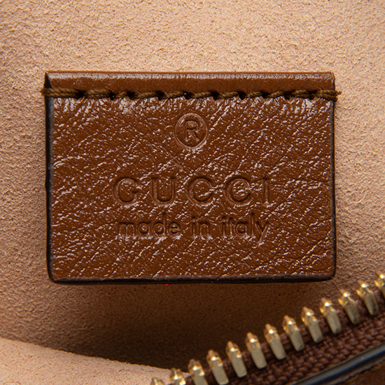 Gucci Glazed Leather Pochette
