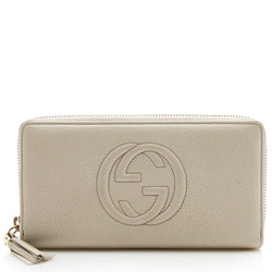 Gucci Soho Leather Zip Around Wallet (SHF-11779)
