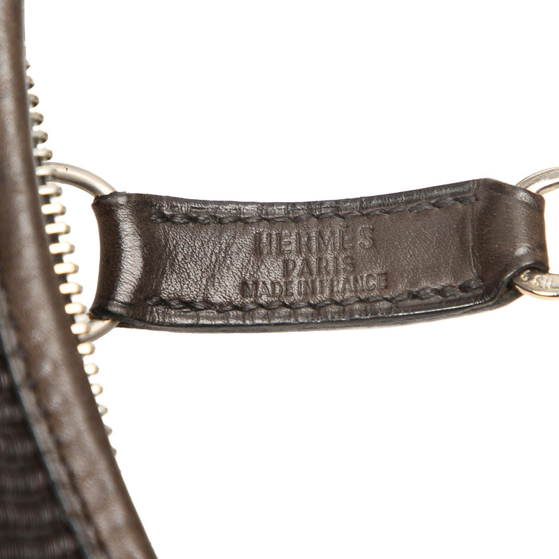 Hermes Canvas Trim 31 Shoulder Bag (SHG-12208)
