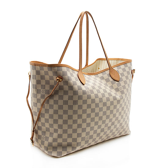 Louis Vuitton Damier Azur Neverfull GM Tote