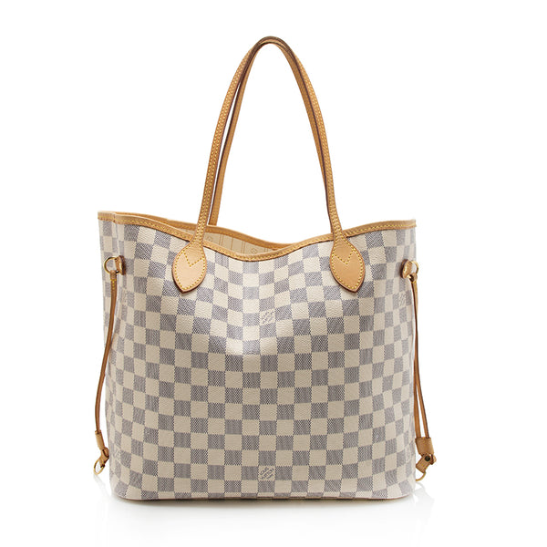 Louis Vuitton Damier Azur Neverfull MM Tote (SHF-11842)