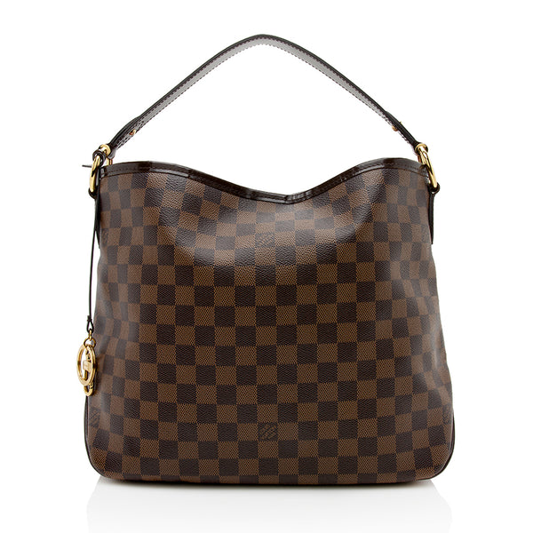 Louis Vuitton Damier Ebene Delightful PM Shoulder Bag  (SHF-12342)