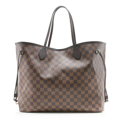 Louis Vuitton Damier Ebene Neverfull GM Tote