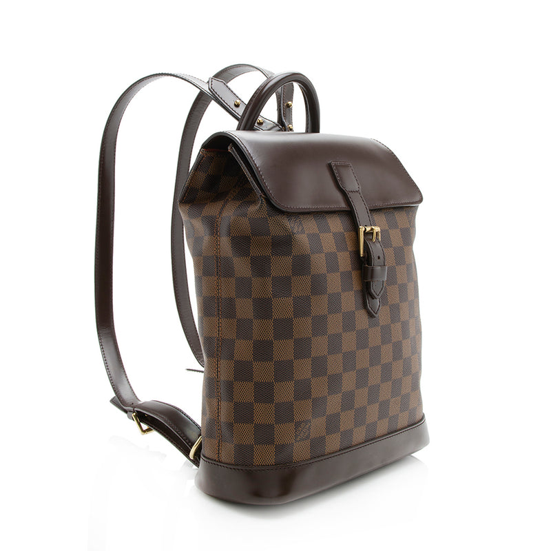 Louis Vuitton Damier Ebene Soho Backpack