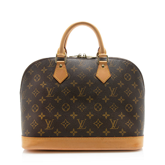 Louis Vuitton Monogram Canvas Alma PM Satchel