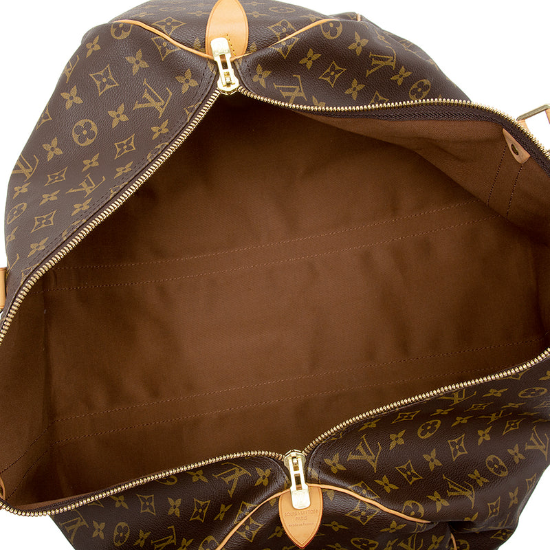 Louis Vuitton Monogram Canvas Keepall 55 Duffel Bag