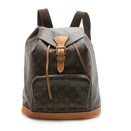 Louis Vuitton Vintage Monogram Canvas Montsouris GM Backpack