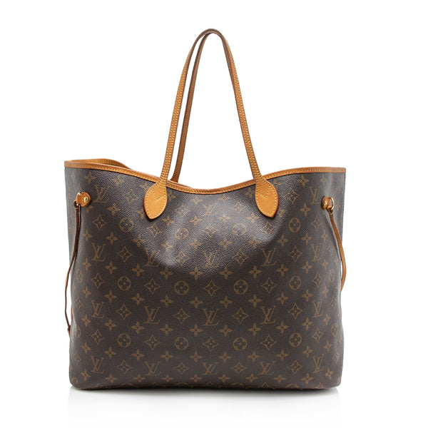 Louis Vuitton Monogram Canvas Neverfull GM Tote (SHF-11641)