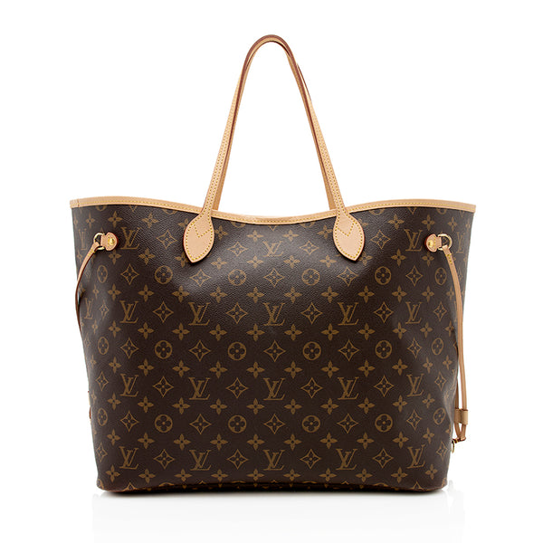 Louis Vuitton Monogram Canvas Neverfull GM Tote (SHF-12346)