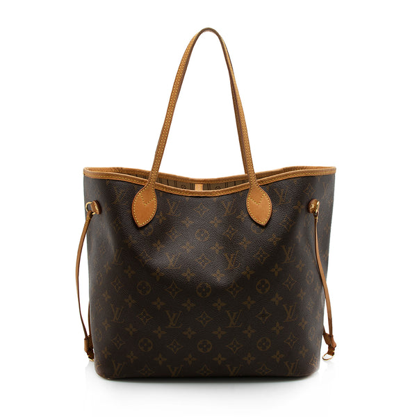 Louis Vuitton Monogram Canvas Neverfull MM Tote (SHF-11840)