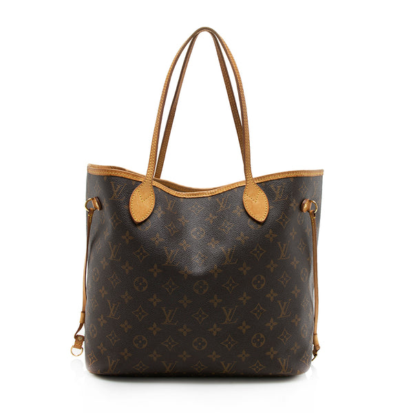 Louis Vuitton Monogram Canvas Neverfull MM Tote (SHF-11841)
