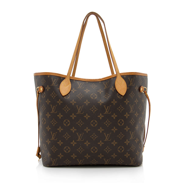 Louis Vuitton Monogram Canvas Neverfull MM Tote (SHF-13800)