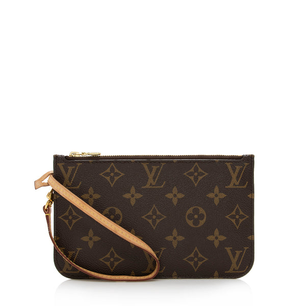 Louis Vuitton Monogram Canvas Neverfull PM Pochette (SHF-13865)