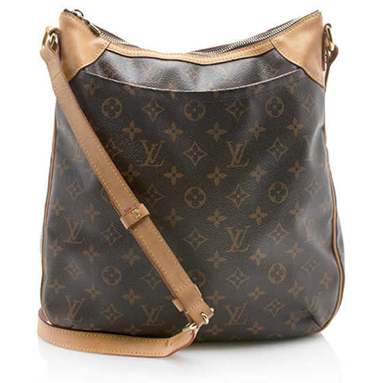 Louis Vuitton Monogram Canvas Odeon MM Shoulder Bag