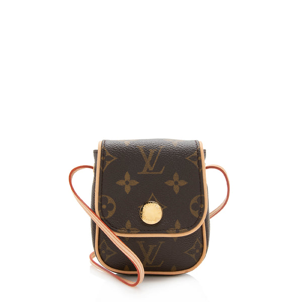 Louis Vuitton Monogram Canvas Pochette Cancun Shoulder Bag (SHF-12301)