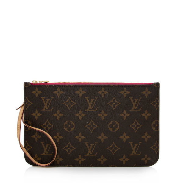 Louis Vuitton Monogram Canvas Pochette (SHF-13945)
