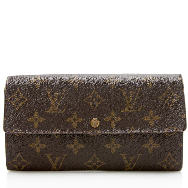Louis Vuitton Monogram Canvas Porte Monnaie Credit Wallet