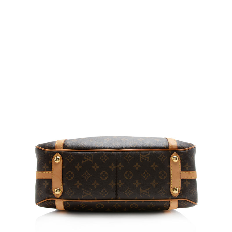 Louis Vuitton Monogram Canvas Stresa PM Shoulder Bag (SHF-12120)