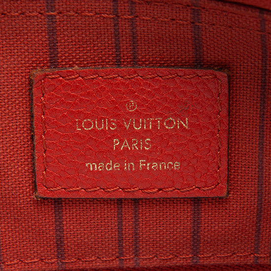 Louis Vuitton Monogram Empreinte Speedy Bandouliere 25 Satchel - FINAL SALE