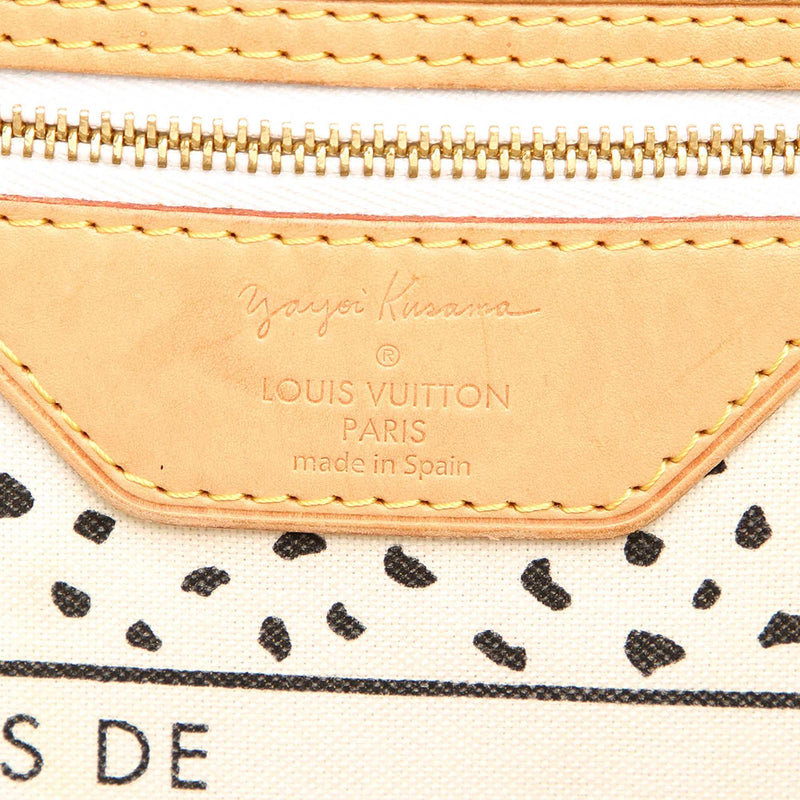 Louis Vuitton Monogram Kusama Neverfull MM (SHG-10390)