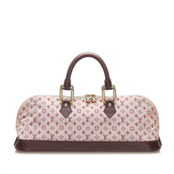 Louis Vuitton Monogram Mini Lin Alma Long (SHG-14040)