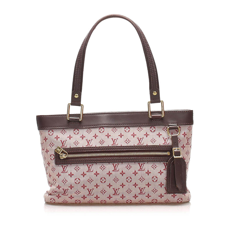 Louis Vuitton Monogram Mini Lin Lucille PM (SHG-14824)