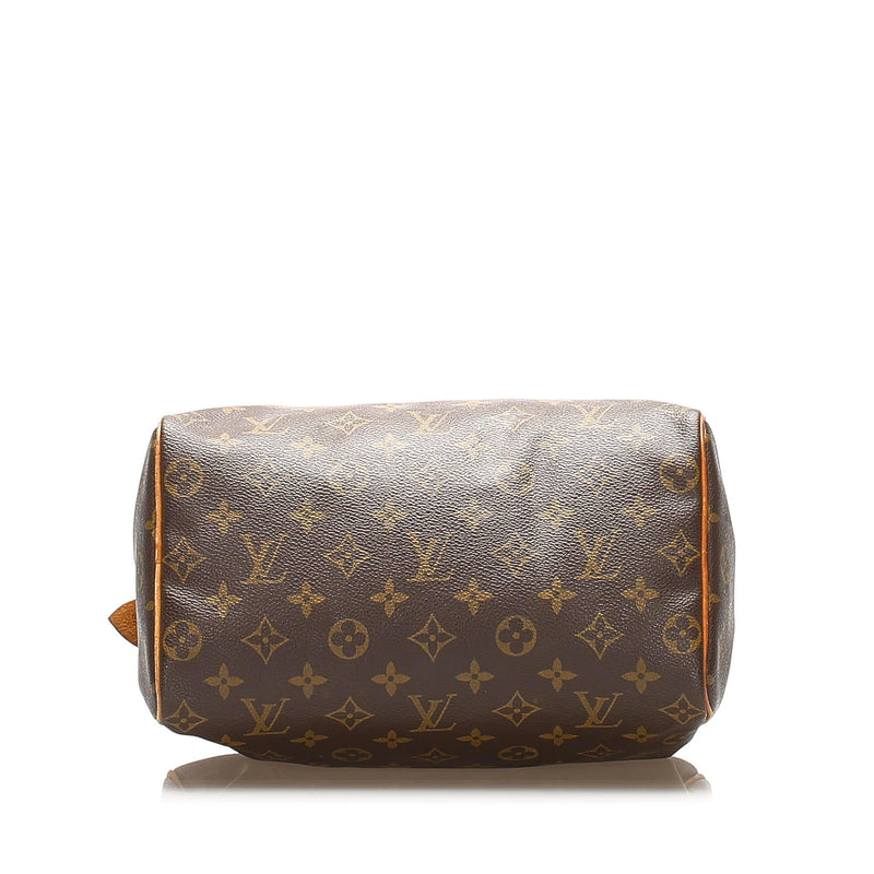 Louis Vuitton Monogram Speedy 25 (SHG-14831)