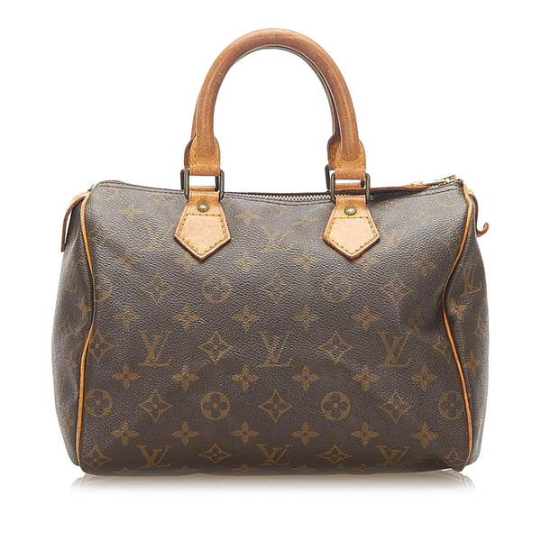 Louis Vuitton Monogram Speedy 25 (SHG-18182)