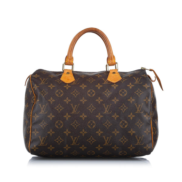 Louis Vuitton Monogram Speedy 30 (SHG-18184)