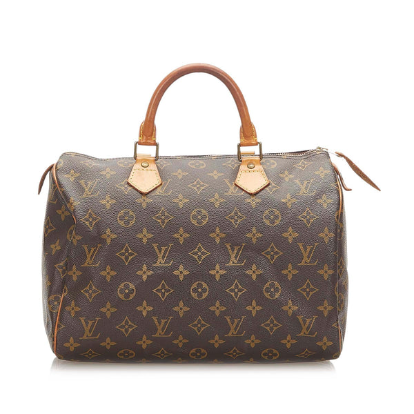 Louis Vuitton Monogram Speedy 30 (SHG-18741)