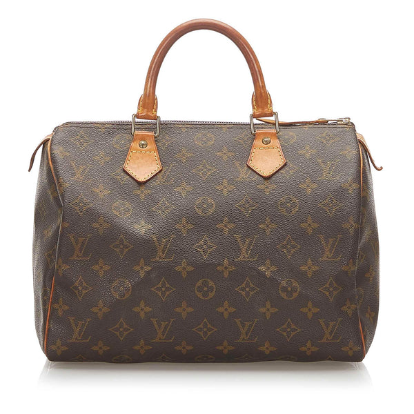 Louis Vuitton Monogram Speedy 30 (SHG-18876)