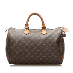 Louis Vuitton Monogram Speedy 35 (SHG-14651)