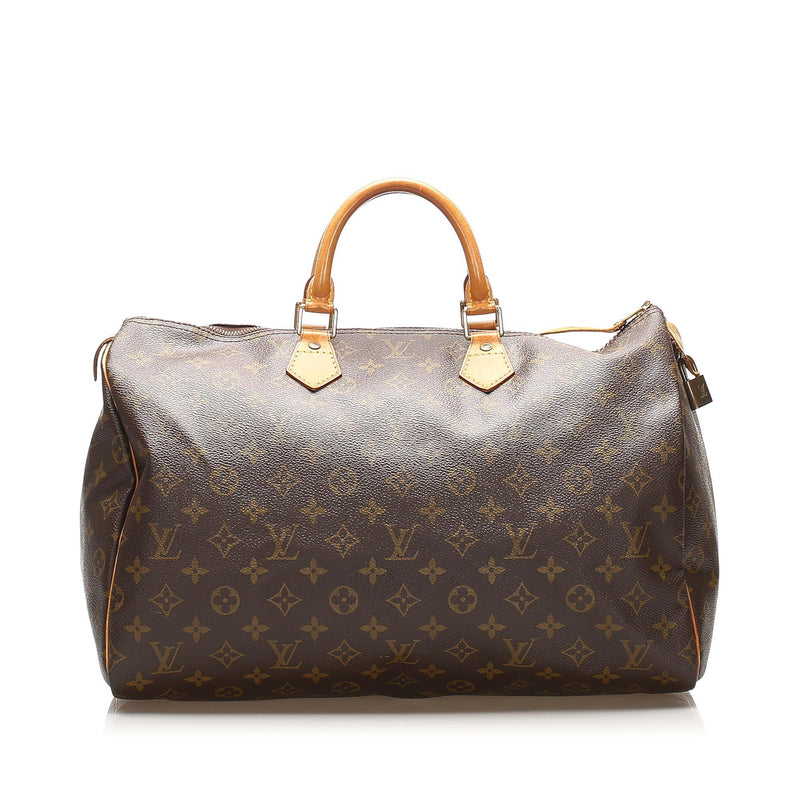 Louis Vuitton Monogram Speedy 40 (SHG-14829)