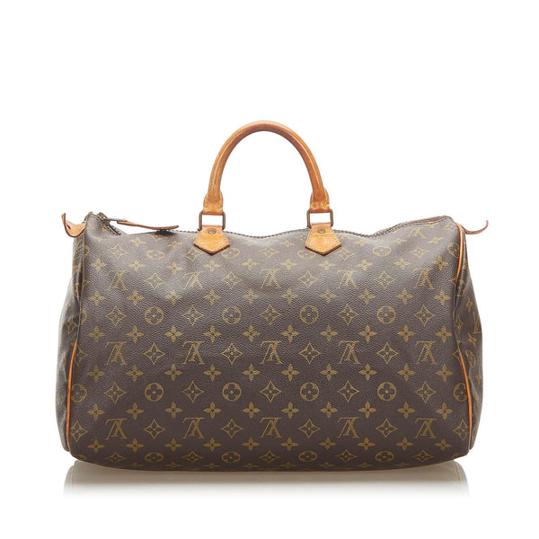 Louis Vuitton Monogram Speedy 40 (SHG-18378)