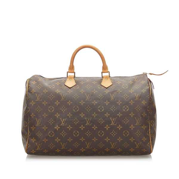 Louis Vuitton Monogram Speedy 40 (SHG-18663)