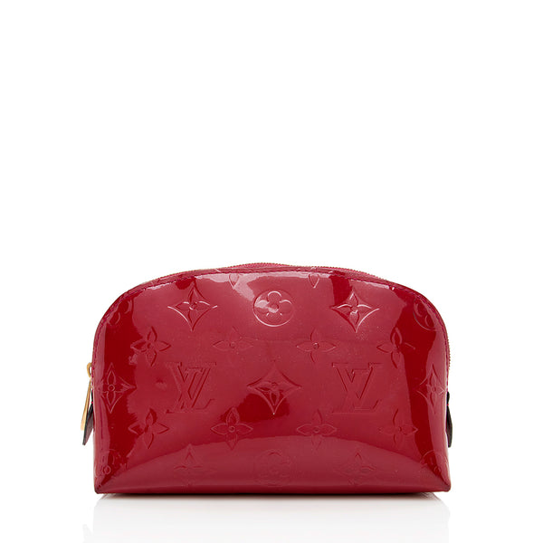 Louis Vuitton Monogram Vernis Cosmetic Pochette (SHF-13834)