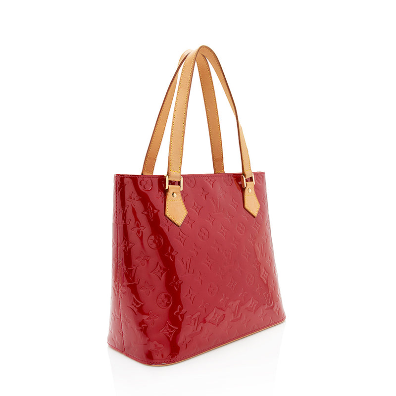 Louis Vuitton Monogram Vernis Houston Tote (SHF-12147)