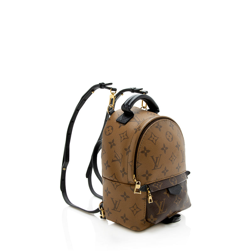 Louis Vuitton Reverse Monogram Canvas Palm Springs Mini Backpack