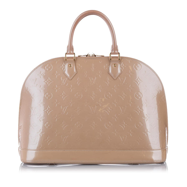 Louis Vuitton Vernis Alma MM (SHG-17124)